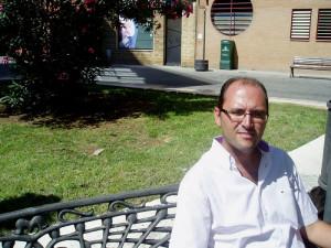 El vocal Javier Roméu.