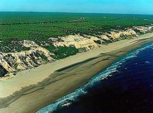El BOJA publica una modificación en el litoral onubense.