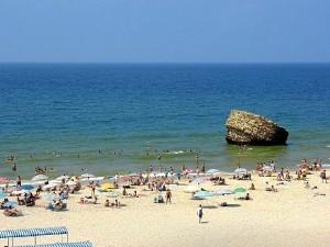 La conocida playa de Matalascañas.