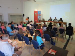 Inauguración del curso en el aula de Cepsa.