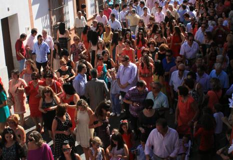 Paterna del Campo celebra sus fiestas de la Santísima Cruz de Abajo