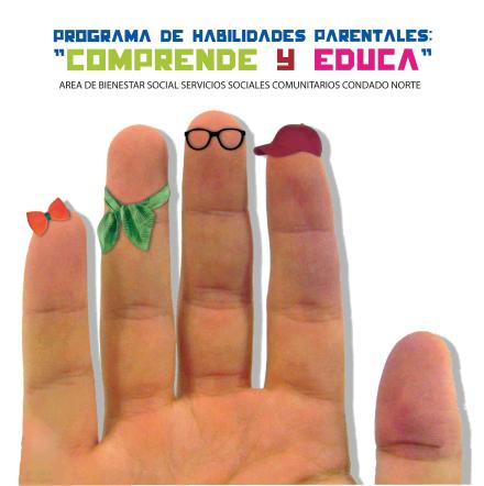 Cartel del programa 'Comprende y educa'.