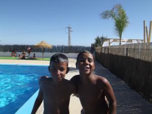 Los niños han disfrutado del verano en Huelva.