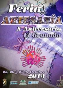 Cartel de la Feria de Artesanía.