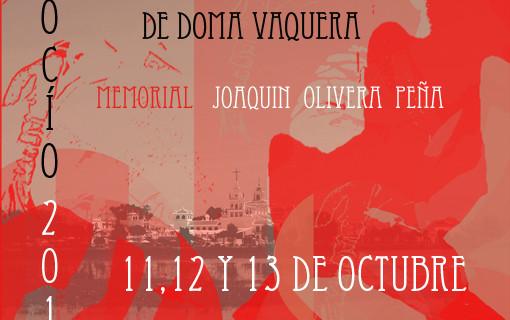 Todo listo para el 42º Campeonato de España de Doma Vaquera, que se celebra en El Rocío del 11 al 13 de octubre