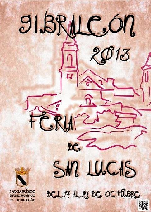 Cartel Feria de San Lucas 2013