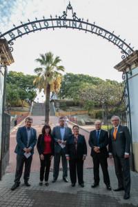 Michael Dumois, Ana Rodríguez, Antonio López, Charo Venegas, Ramón Fernández y Miguel A. Velasco. / Foto: José Carlos Palma.