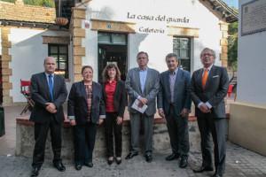 Participantes en el desayuno informativo organizado por Huelva Buenas Noticias. / Foto: José Carlos Palma