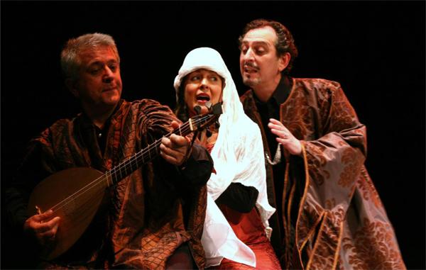 Imagen de la representación de la obra 'Coplas del buen amor'.