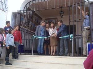 Inauguración de la Feria de Artesanía del Granado 2012.