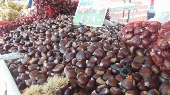Las castañas, señas de identidad de la Feria de Gibraleón