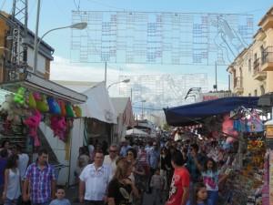 Feria de San Lucas en Gibraleón.
