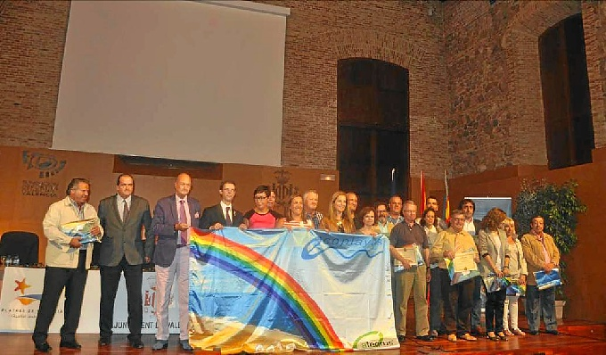 Punta Umbría y El Portil obtuvieron la bandera Ecoplayas.