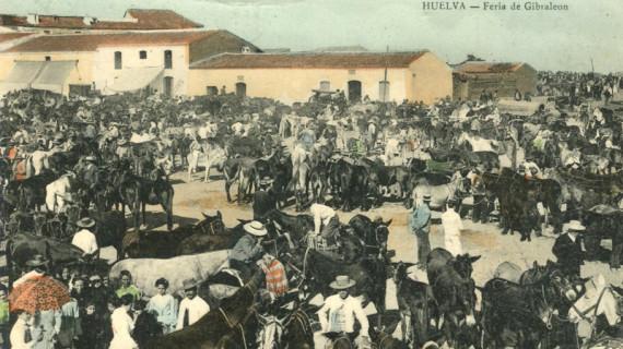La Feria de Gibraleón, cerca de siete siglos de historia de una de las fiestas más antiguas de España