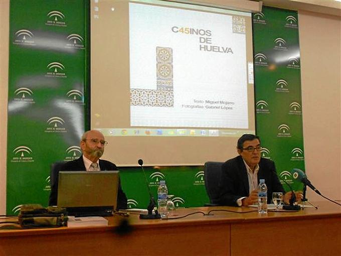 Presentación del libro sobre los Casinos de Huelva.
