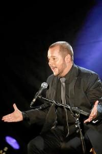 Jeromo Segura en una actuación. / Foto: Pako Manzano
