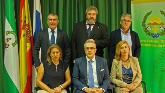 Presentada la nueva Junta de Gobierno del Colegio Oficial de Veterinarios de Huelva