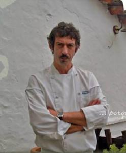 Luismi, chef y propietario de Arrieros.