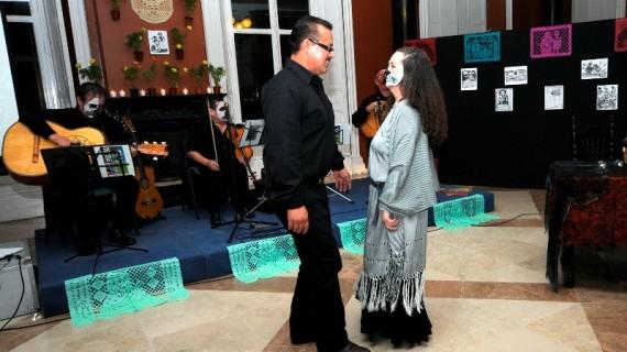La fiesta mexicana de los muertos llega a la Casa Colón