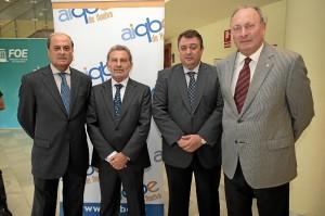 (De izquierda a derecha).- Antonio Ponce, Antonio González, Eduardo Muñoz y Miguel Cañavate. / Foto: José Carlos Palma.