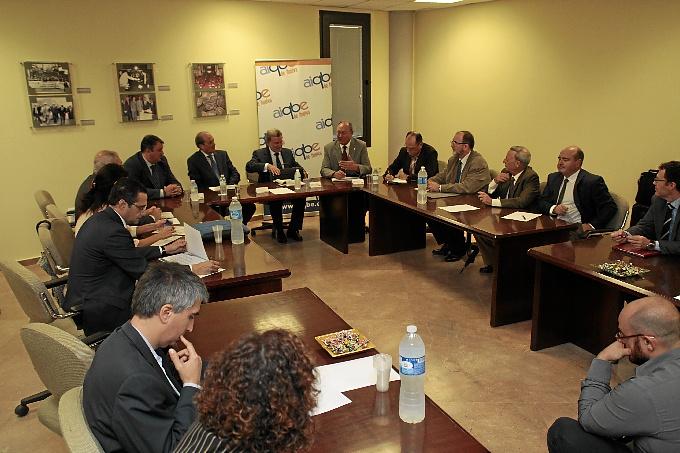 En el encuentro en AIQBE han participado los directores de las empresas. / Foto: José Carlos Palma.
