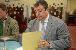 El delegado territorial de Empleo, Eduardo Muñoz.