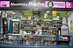 En 'Manjares de Huelva' se puede encontrar un amplio surtido de productos de Huelva.