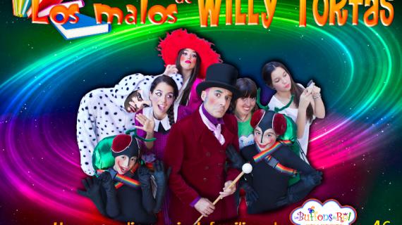 Les buffons du roi traen a Huelva su comedia musical 'Los malos de Willy Tortas'