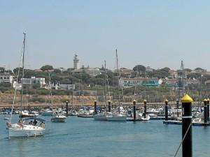 Imagen tomada en Mazagón, ya que también ha recorrido la provincia de Huelva.