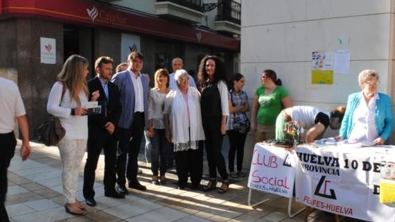 Feafes-Huelva conmemora el Día Mundial de la Salud Mental concienciando sobre esta enfermedad