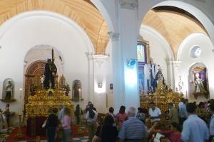 Interior de la Parroquia de la Concepción