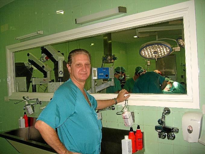 Pedro Naranjo, jefe del Servicio de Cirugía del Hospital Infanta Elena de Huelva.