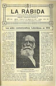 La revista 'Rábida' fue un referente cultural en España.