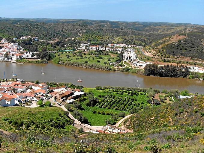 Sanlúcar de Guadiana, ya que también ha recorrido la provincia de Huelva.