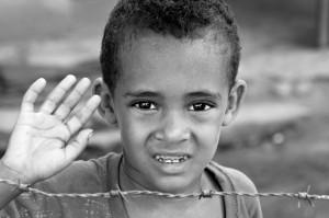 Una de las fotografías recogidas en 'Invisibles', realizada por María en República Dominicana.