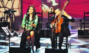Alba y Manuel Molina vendrán a la Peña Flamenca de Huelva. / Foto: fotolog.com.