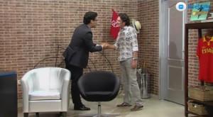 José Ángel González recibe a Pareja Obregón.