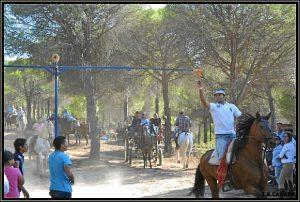 La actividad reúne a numerosos aficionados al caballo.