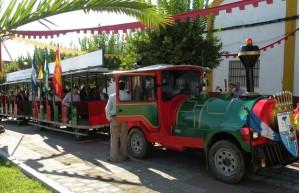 El el Vinotren los asistentes conocerán el entorno de Doñana a la vez que degustan vinos.