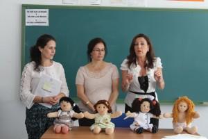 Presentación del taller de costura en Bollullos.