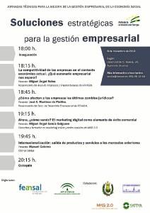 Cartel de las Jornadas Técnicas.