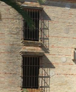 Detalle de la vivienda que podría convertirse en un museo temático en Palos.