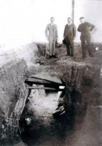 Imagen captada en el momento del descubrimiento. / Foto: Junta de Andalucía