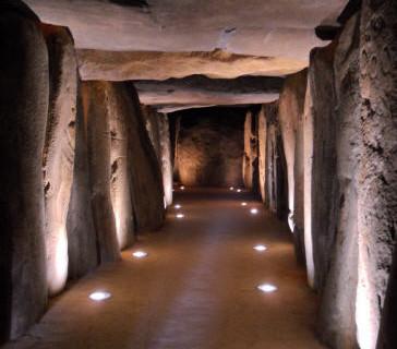 Una visita guiada musical al Dolmen de Trigueros, próxima propuesta de 'Las lunas de Soto'