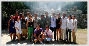 Parte del equipo del documental. / Foto: www.blogxcaret.com.