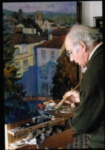 El pintor José María Franco. / Foto: artistasdehuelva.com.