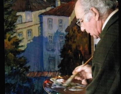 """José María Franco: """"A mis 77 años tengo la misma ilusión por pintar que el primer día"""""""
