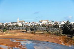 Vista del municipio de Gibraleón.