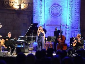 La cantante portuguesa Cristina Nóbrega. / Foto: Harina de Otro Costal.