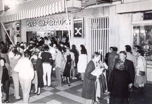 Cine Emperador  cuando acogía las proyecciones del Festival de Cine Iberoamericano.